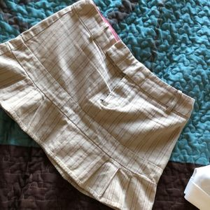 American eagle striped skirt size 0
